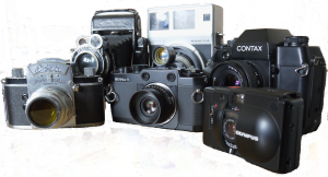 Some of grumpytyke's film cameras