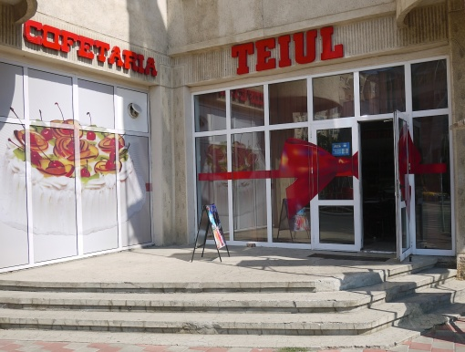 'Teiul' coffee shop in Iasi, Romania