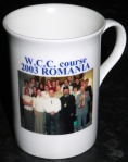 World Council of Churches English course, 2003, Iasi, Romania, commemorative mug