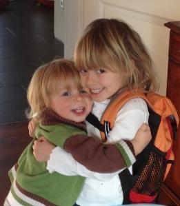 Picture of my grandchildren, Alicia and Ewan