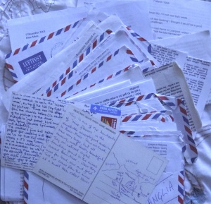 Some of the many thousands of words written to my mother over several years in Romania. They don't make me a 'writer', but what if I transcribe them and publish as a book? Will this wave the magic wand?
