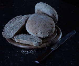 Same recipe as the 'plain' bread above but with the addition of a handful of sunflower seeds