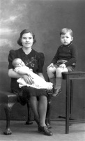 February 1943. I have a little brother, 3 months old at this time,