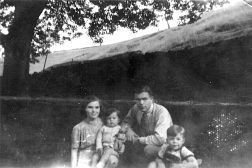 Summer 1944. Dad's home on leave