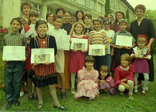Bunnies' parents were so thrilled with what their children had achieved, turning up with younger sisters and brothers to be at the presentations