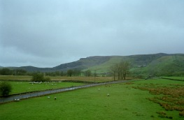 View from the train Window after Settle