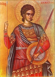 Icon of Saint Dimitrie