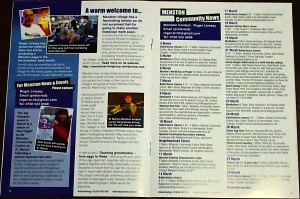 Menston section of the new community magazine 'It's the business', covering postcode area LS29