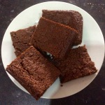 'Slices' of parkin on a plate