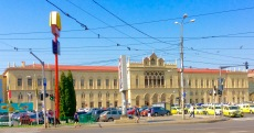 The main Iasi railway station