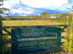 This, at the top of Otley Chevin, is where you can learn to build dry stone walls.There are competitions here too.