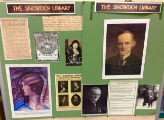 Display board about Philip Snowden