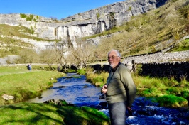 Photo of me at Malham Cove in October 2017