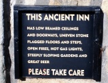 "... to the ""ancient inn"", the Craven Arms"