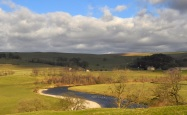 A Wharfe meander near Burnsall
