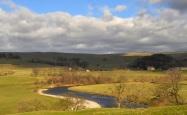 A Wharfe meander near Burnsall