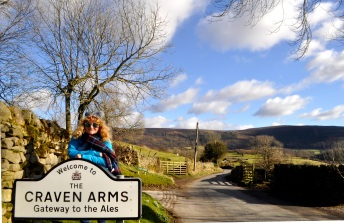 Skipton advertises itself as 'Gateway to the Dales'. The Craven Arms at Appletreewick is ...