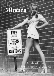 A photo of the working cover showing a mini-skirted girl 'with attitude'