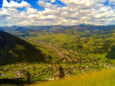 View of Sadova and surroundings