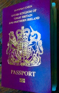 Photo of the new passport cover